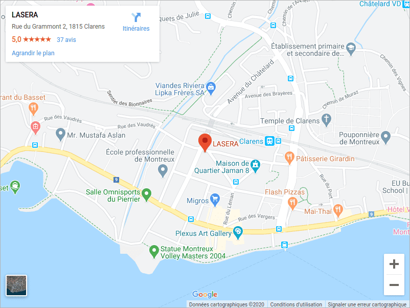 Google Maps Lasera